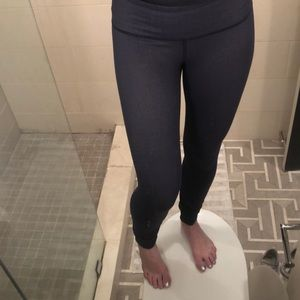 Lululemon Faux Denim Leggings - Full Length Size 6